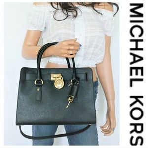 💕SALE💕 Michael Kors Black Hamilton Bag